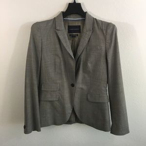 Banana Republic One Button Taupe Blazer Size 8